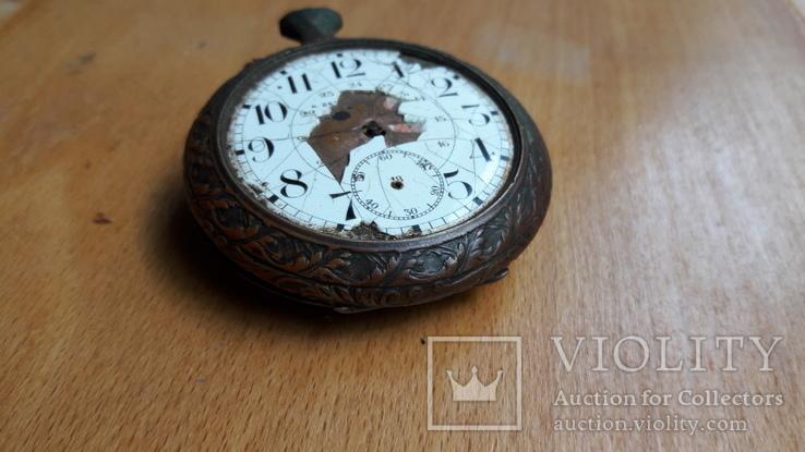 Карманные часы , корпус, на запчасти , под ремонт, фото №7