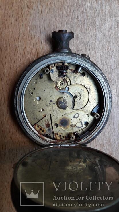 Карманные часы , корпус, на запчасти , под ремонт, фото №9
