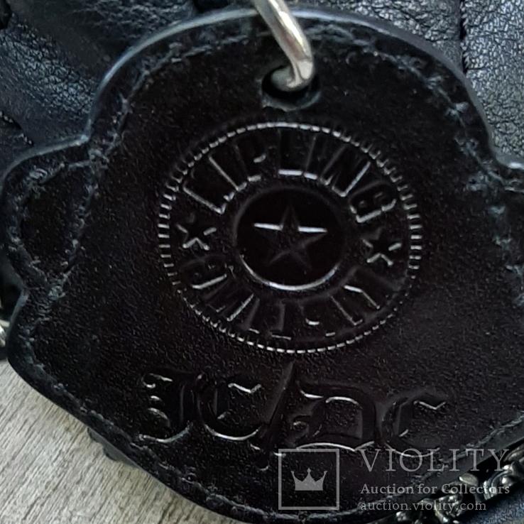 Кожаная сумка Kipling в винтажном стиле., фото №5