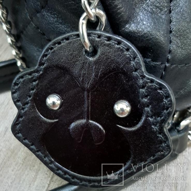 Кожаная сумка Kipling в винтажном стиле., фото №6