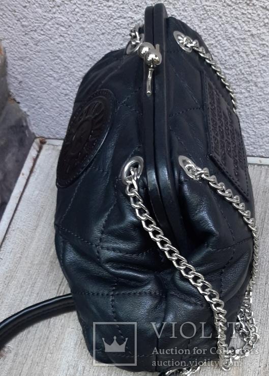 Кожаная сумка Kipling в винтажном стиле., фото №7