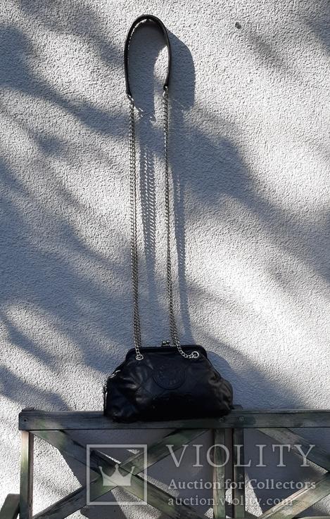 Кожаная сумка Kipling в винтажном стиле., фото №8