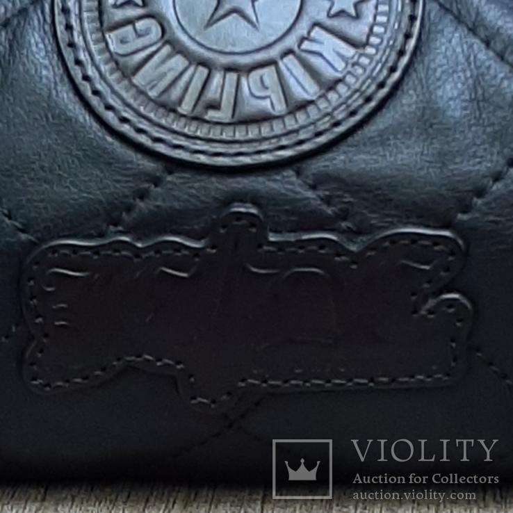 Кожаная сумка Kipling в винтажном стиле., фото №13