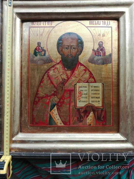 Икона Святитель Николай Чудотворец, фото №2