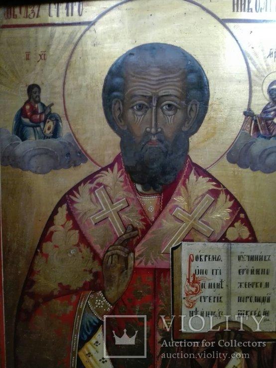 Икона Святитель Николай Чудотворец, фото №3