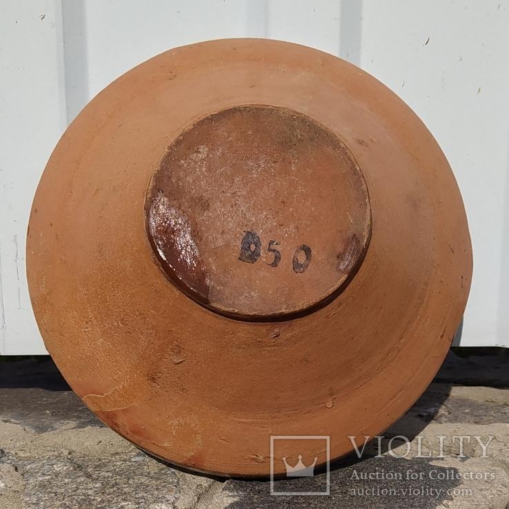 Глиняная тарелка #6, фото №3