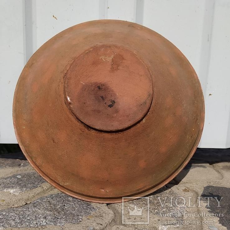 Глиняная тарелка #8, фото №3
