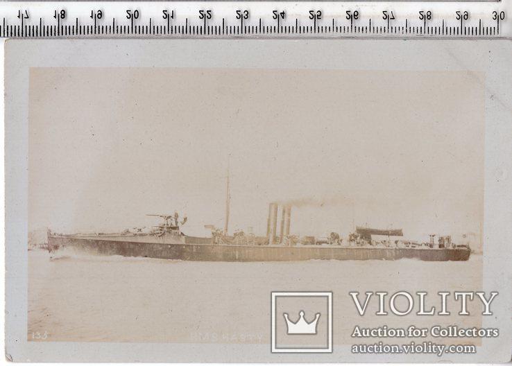 Открытка. Морская тема. Военные корабли.(3), фото №2