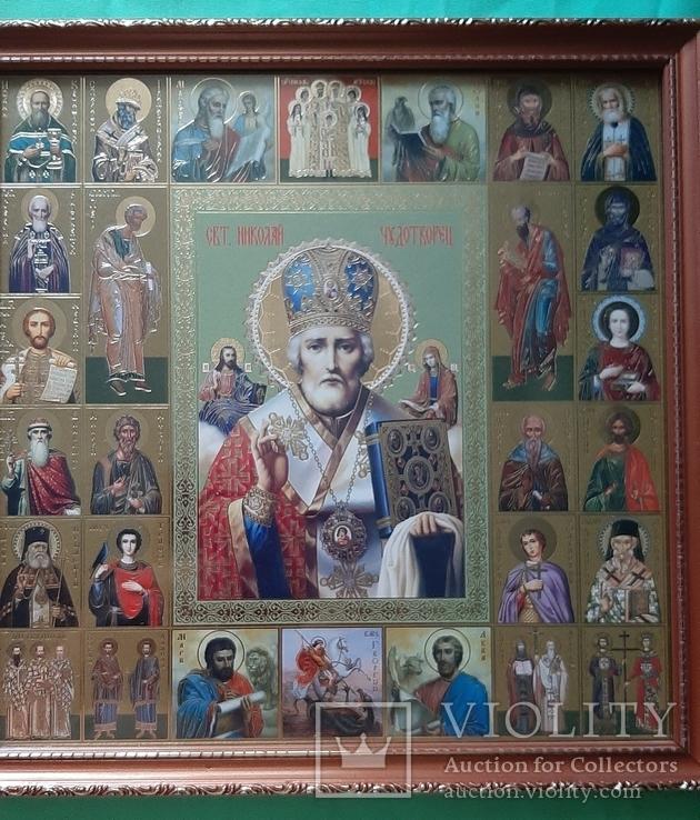 Икона СВ.Николай Чудотворец, фото №2