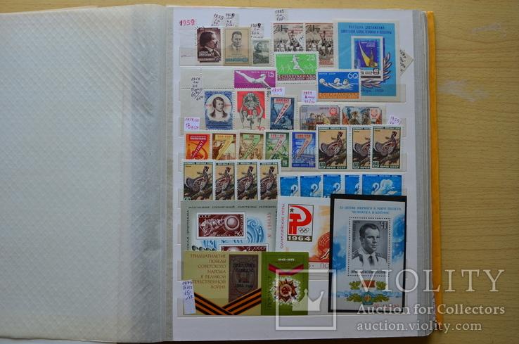 Коллекция марок - 50 кляссеров, фото №7