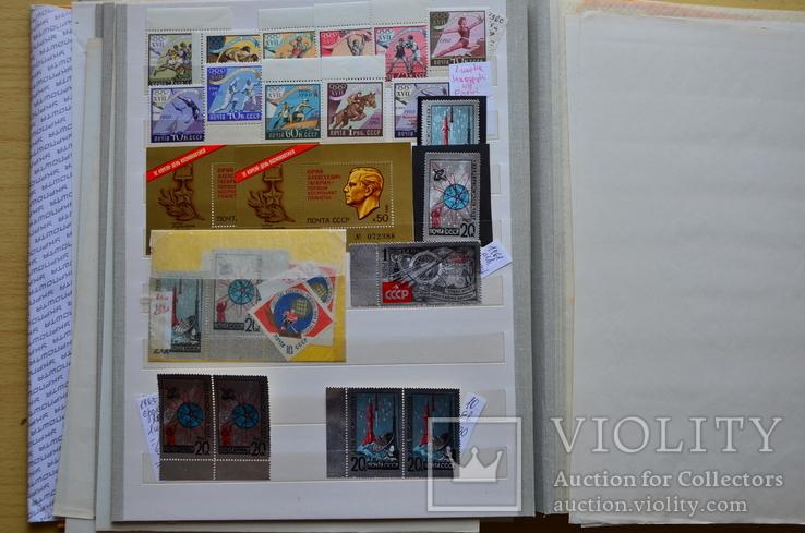 Коллекция марок - 50 кляссеров, фото №8