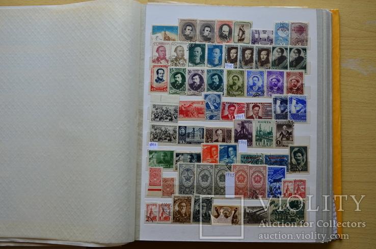 Коллекция марок - 50 кляссеров, фото №13