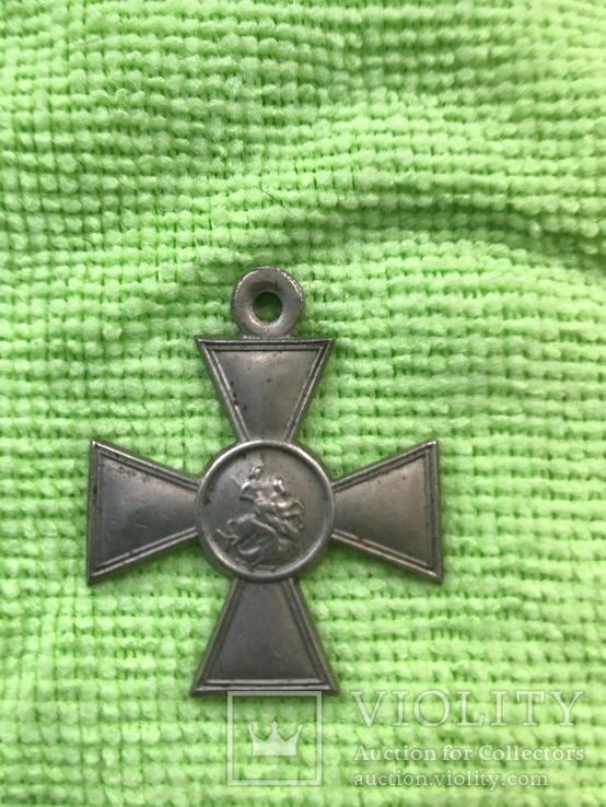 Георгиевский крест-БМ 3ст №333818, фото №3