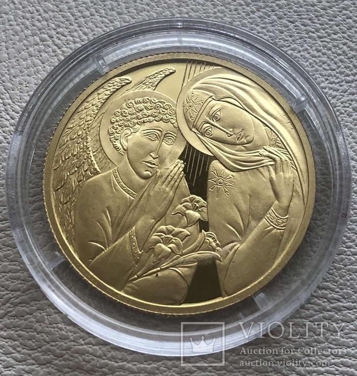 Андорра 2010 год 25 динар 6 грамм 9999' золото