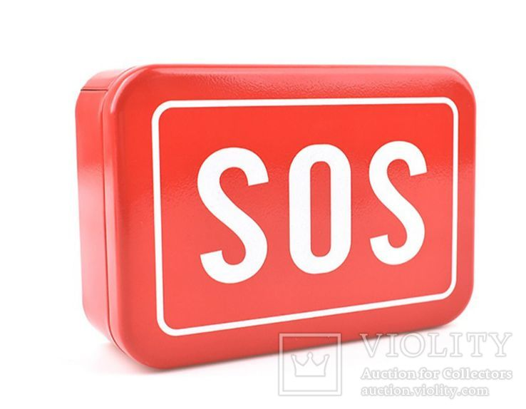 Коробка-Бокс для SOS набора для выживания. Металлическая, фото №3