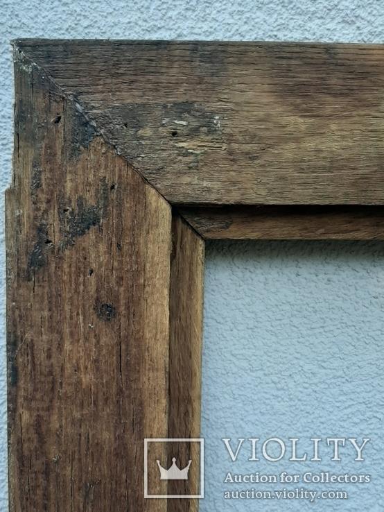 Рама для картины дубовая, 67 х 53,5 см(52х38,5), фото №8