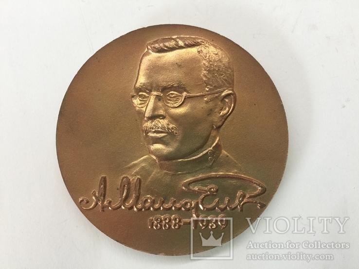 Настольная медаль 100 лет со дня рождения Макаренко А. С., фото №8