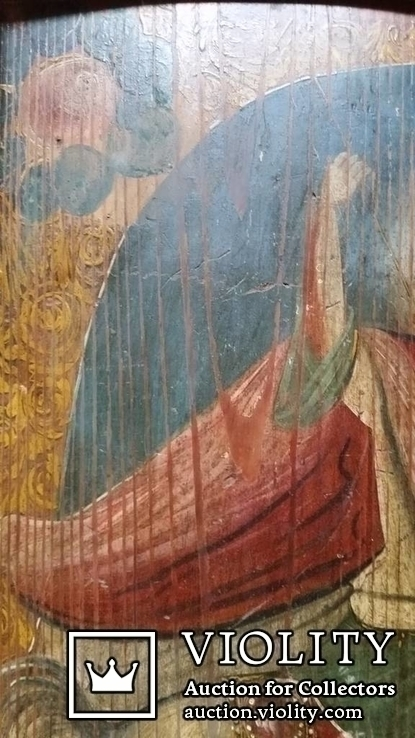 Ікона Юрій Змієборець, Чернігівщина, 52,5х42,5 см, фото №6