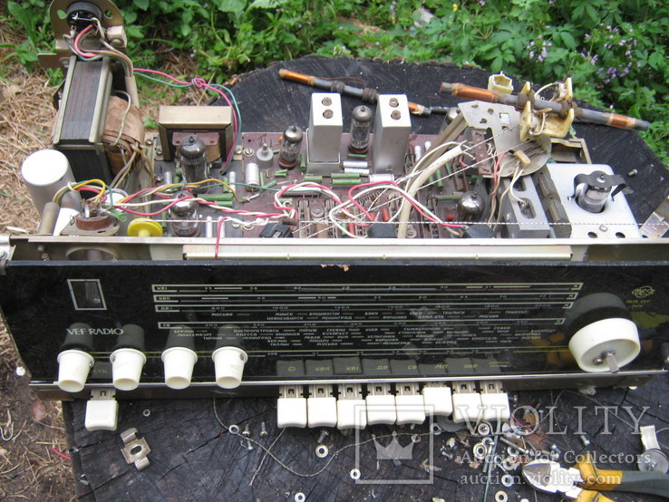 Шасси радиола ВЭФ радио VEF radio, фото №2