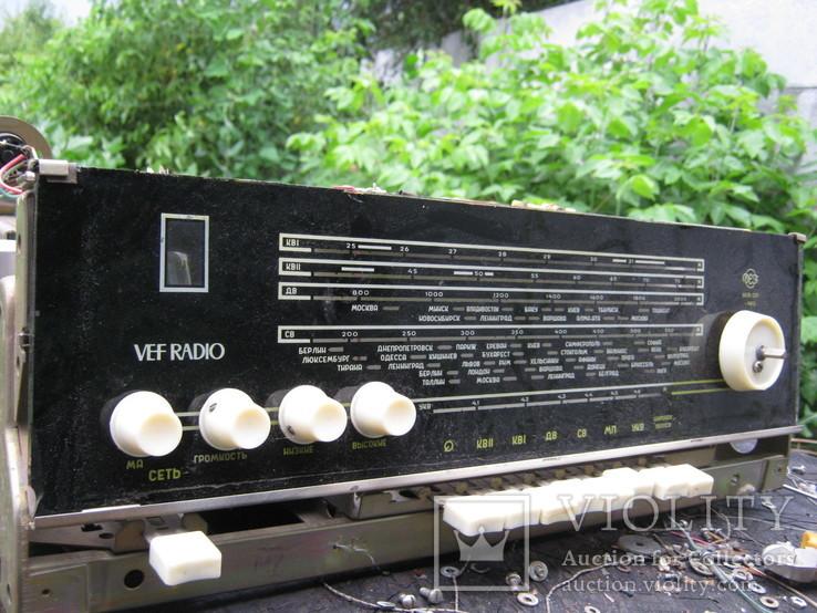 Шасси радиола ВЭФ радио VEF radio, фото №5