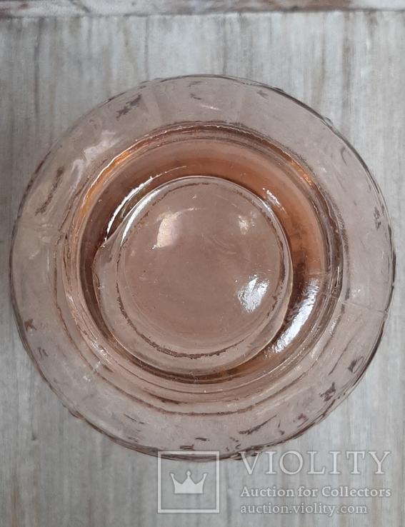 Флакон для духов ,розовое стекло, фото №6