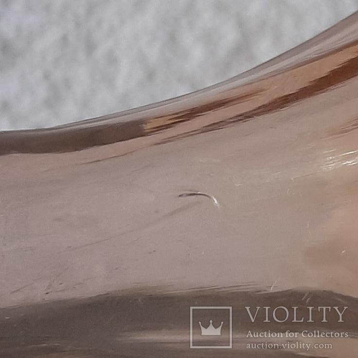 Флакон для духов ,розовое стекло, фото №11