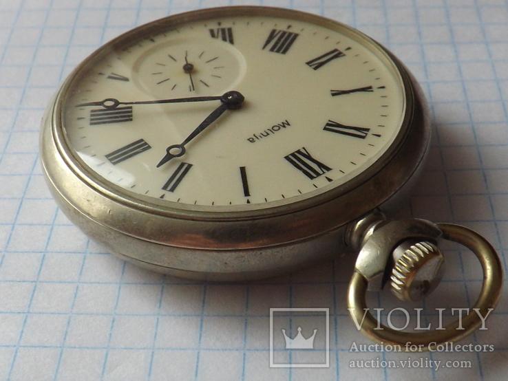 Карманные часы Молния. Волки., фото №7