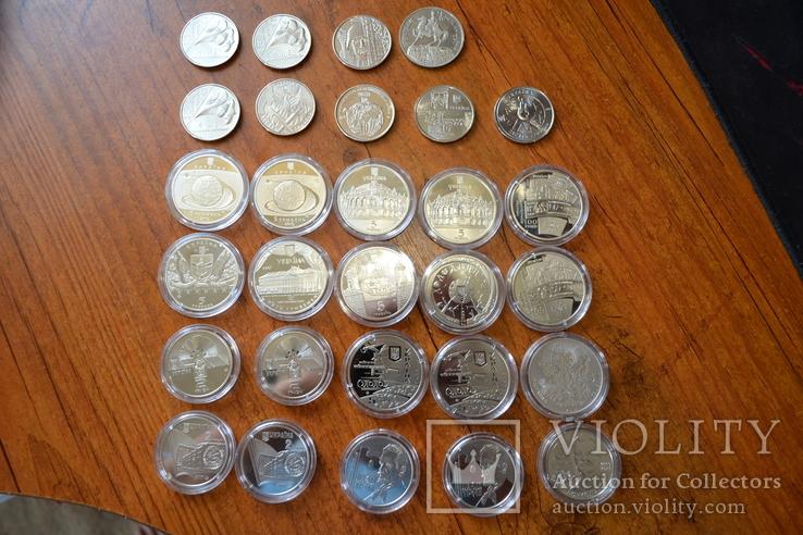 Набір пам'ятних монет різних років (29 монет), фото №5