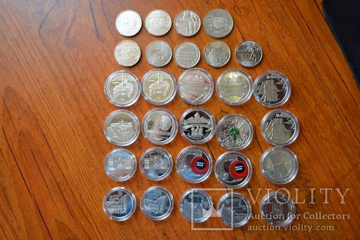 Набір пам'ятних монет різних років (29 монет), фото №6