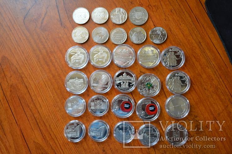 Набір пам'ятних монет різних років (29 монет), фото №7