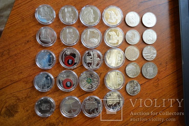 Набір пам'ятних монет різних років (29 монет), фото №10