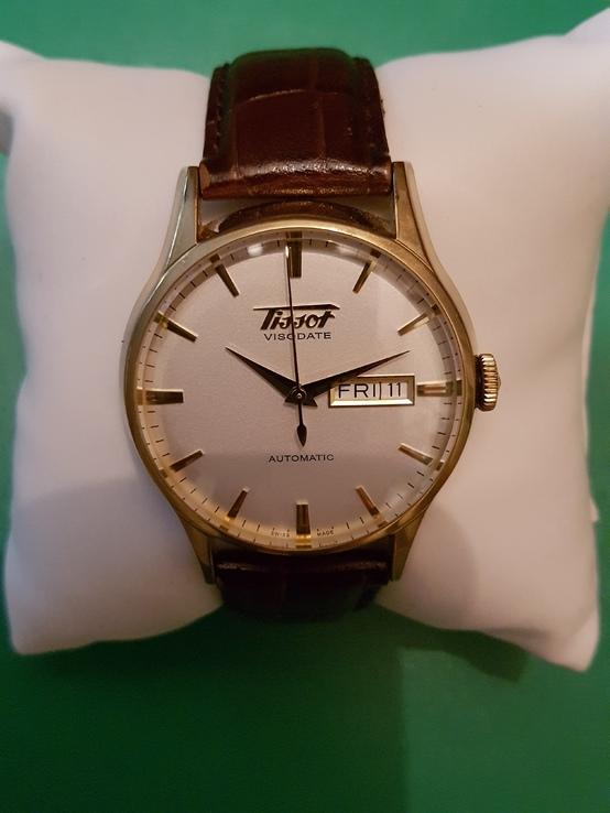 Швейцарские механические часы Tissot Visodate Automatic