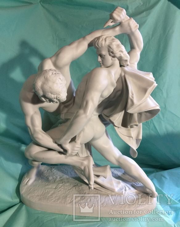 Статуя «Скандинавские борцы» Тюрингия, Германия