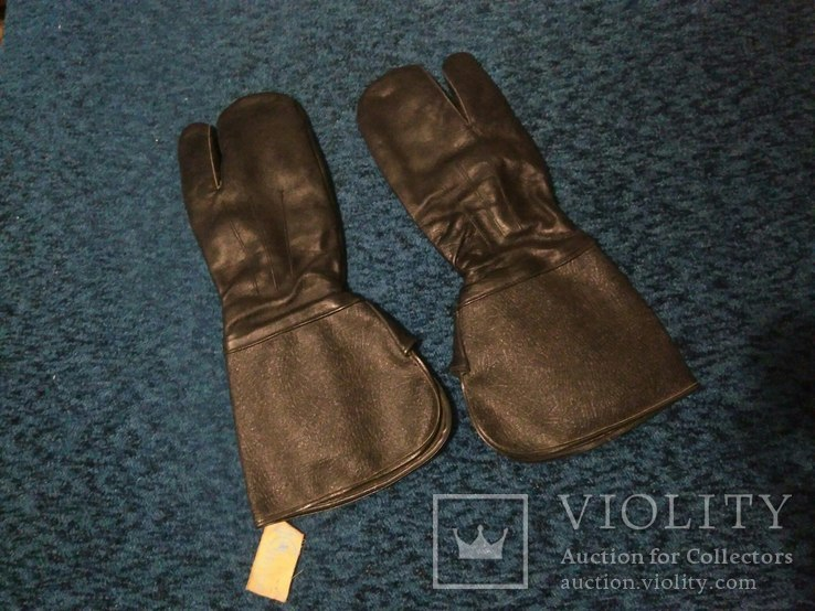 Новые советские мотоциклетны краги перчатки, трехпалые