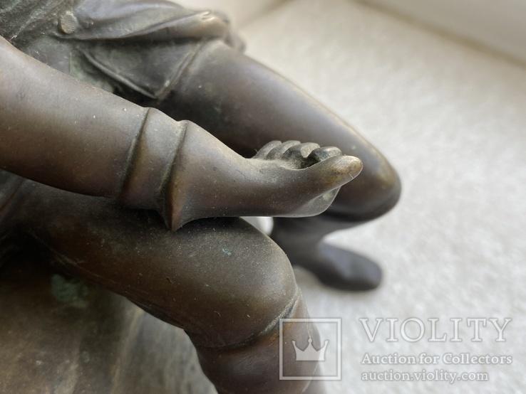 Бронзовая скульптура военного. Европа, фото №8