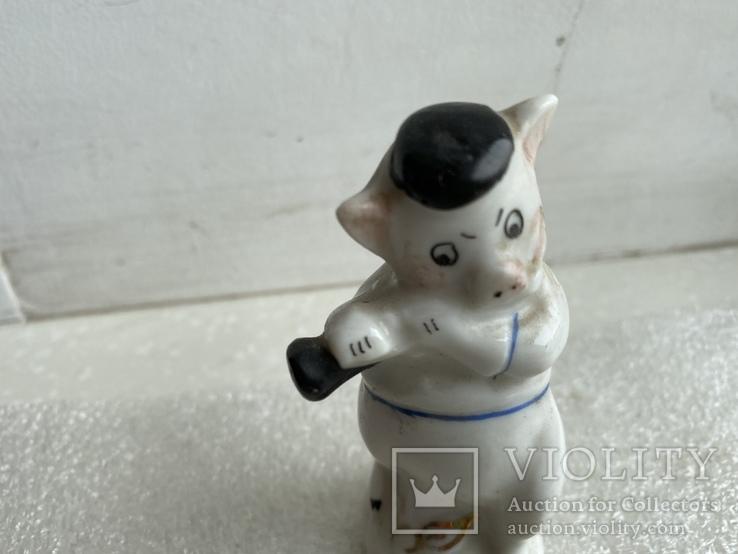 Статуэтка Поросёнок с дудочкой Артель, фото №3