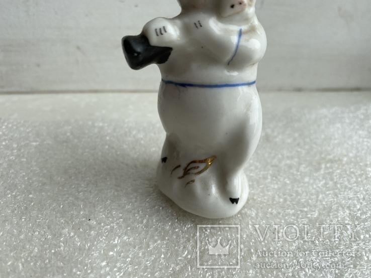 Статуэтка Поросёнок с дудочкой Артель, фото №4
