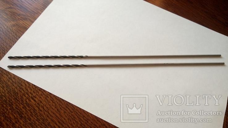 Два сверла 3 мм длина 300 мм Сестрорецкий завод имени Воскова, фото №10