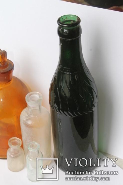 Бутылочки Бактериологическая станция Одесса, Керковус Рига +, фото №12
