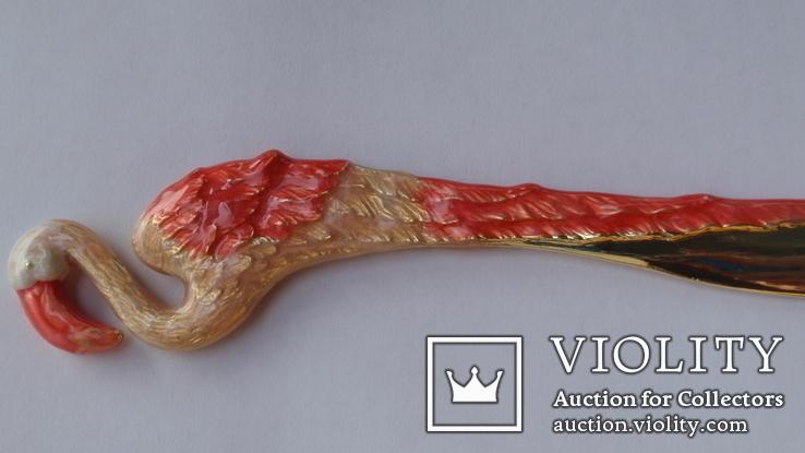 Нож для бумаги Фламинго, фото №10