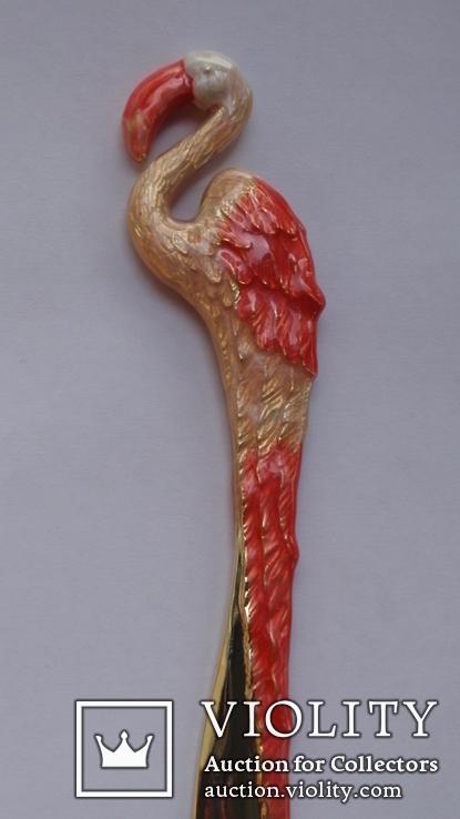 Нож для бумаги Фламинго, фото №11