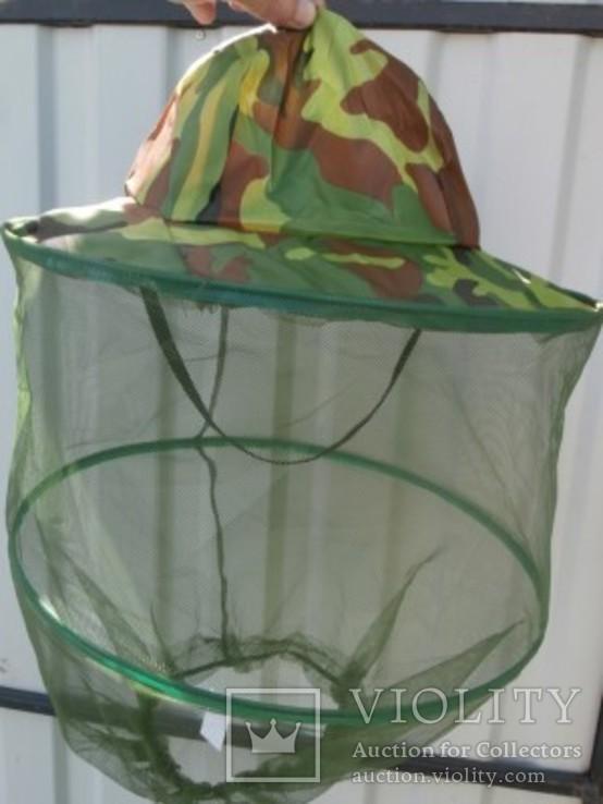 Москитная сетка на голову, для копа, рыбалки и тд., фото №2