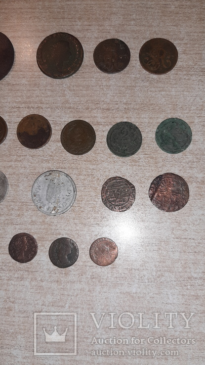 Монеты Австро-Венгрии и Польши. Одним лотом. 24шт. См описание., фото №3