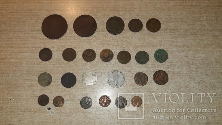 Монеты Австро-Венгрии и Польши. Одним лотом. 24шт. См описание., фото №9