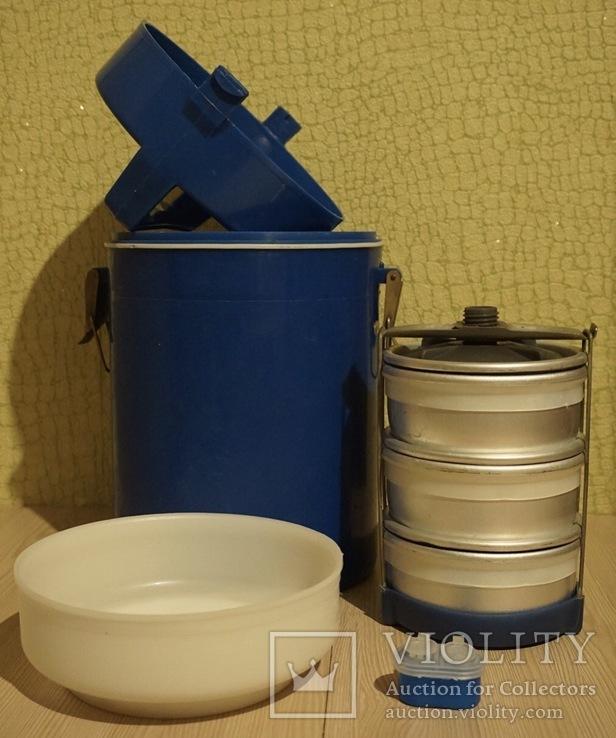 Термос пищевой для готовой еды КЗЫЛ ТУ, фото №3