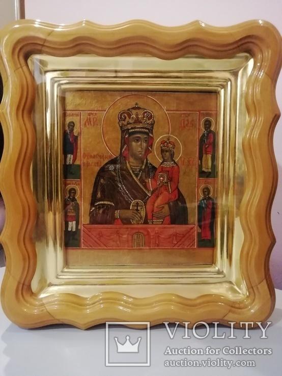 """Икона """"Богородица Умягчение злых сердец"""". 18*15.5., фото №13"""