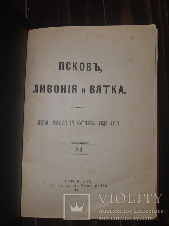 1915 Псков, Ливония и Вятка, фото №9