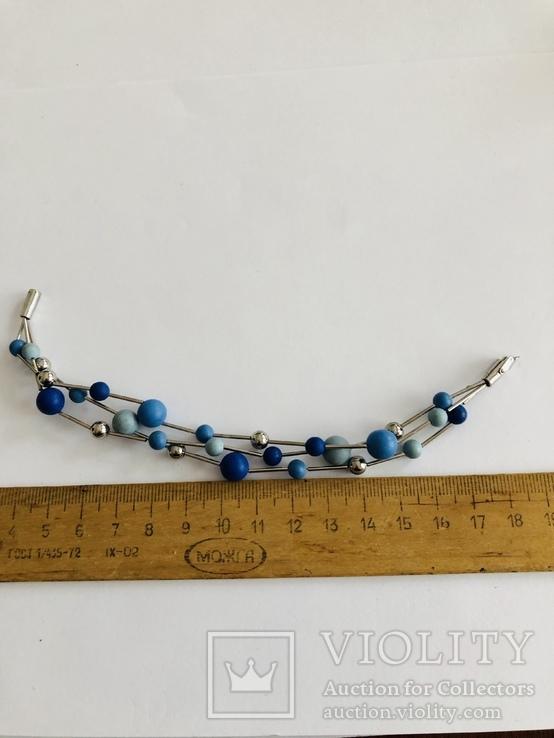 Браслет Swatch Bijoux Bracelet с цветными шариками элитная дизайнерская бижутерия, фото №6