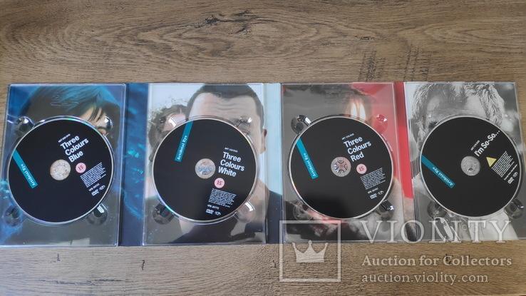 """Кшиштоф Кесльовський """"Три кольори"""" бокс-сет DVD (4 диска), фото №2"""