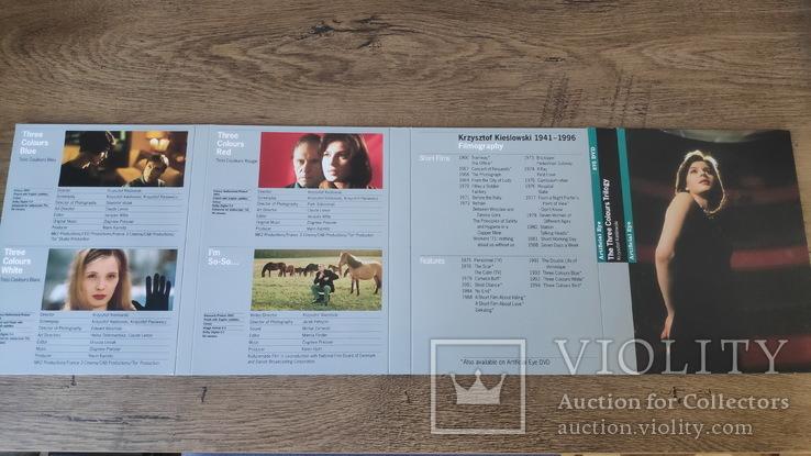 """Кшиштоф Кесльовський """"Три кольори"""" бокс-сет DVD (4 диска), фото №3"""